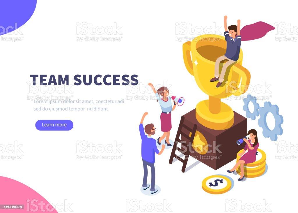 success - Grafika wektorowa royalty-free (Biznes)