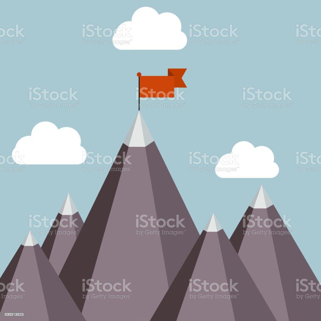 Success vector illustration vector art illustration