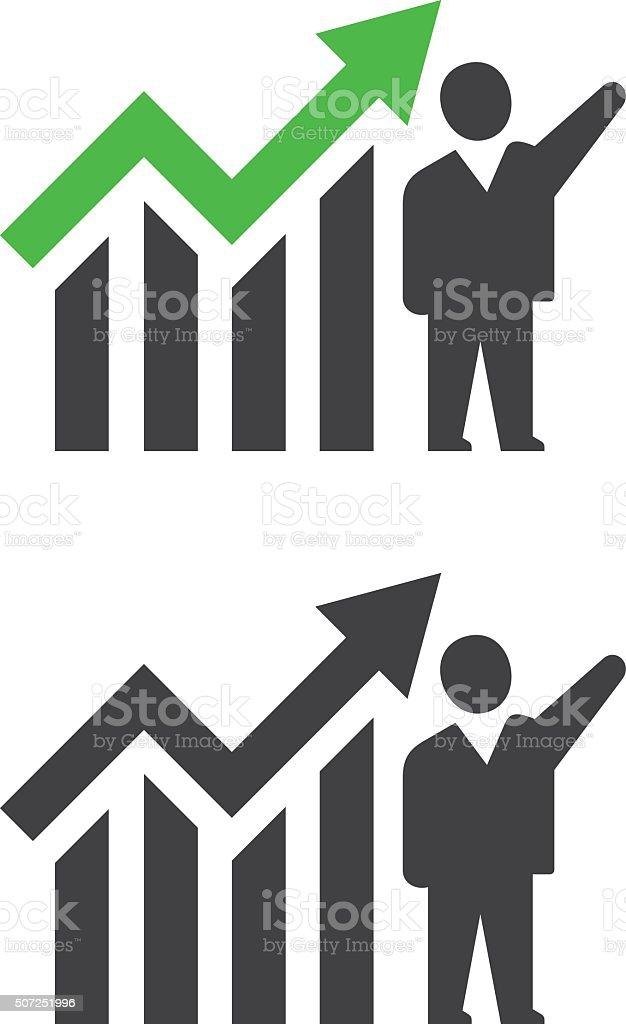Homme d'affaires prospère - Illustration vectorielle