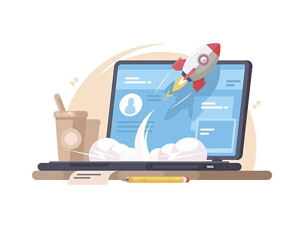 Computer stock illustrations