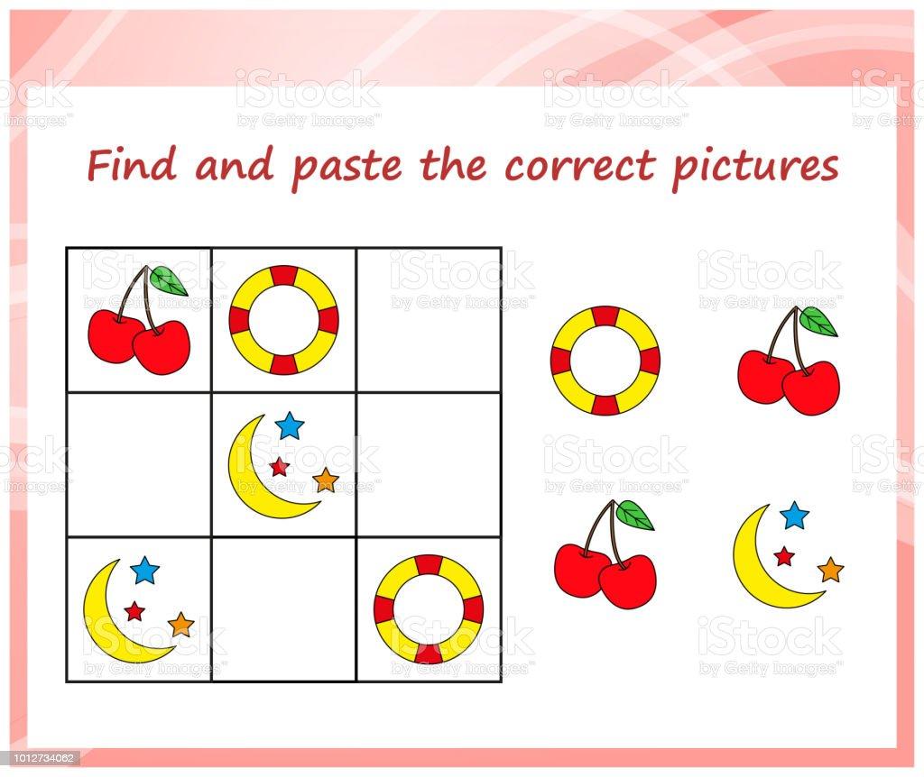 Sudoku Cocuklar Icin Mantik Egitimi Okul Oncesi Cocuklar Icin Oyun
