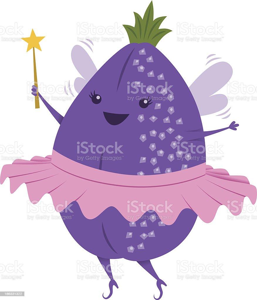 Sugar Plum Fairy royalty-free stock vector art