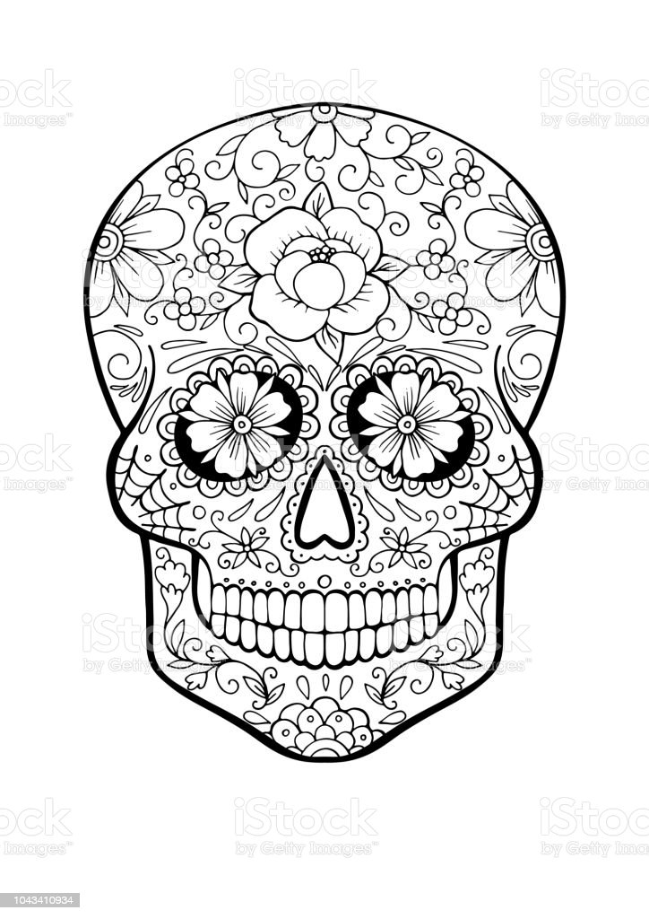 skelet hoofd kleurplaat 28 afbeeldingen