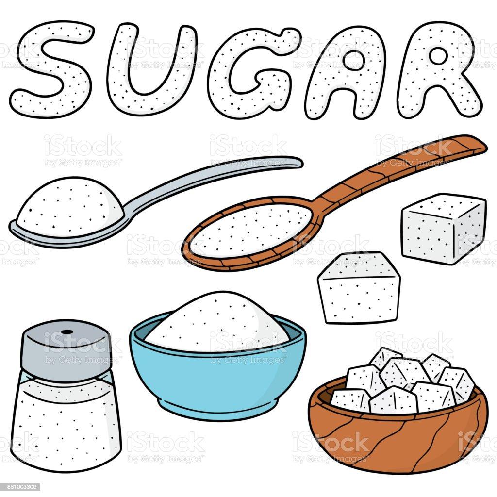 Sugar Stock Vector Art...
