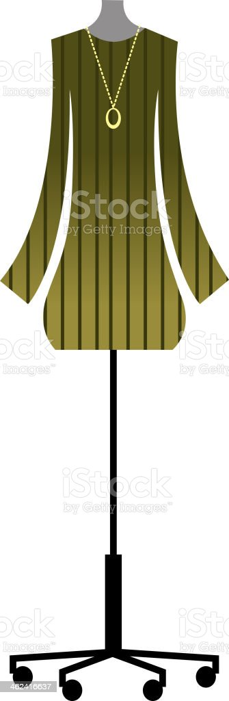Suit of clothes royalty-free stock vector art