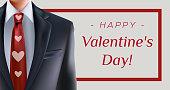 Suit Valentine's day