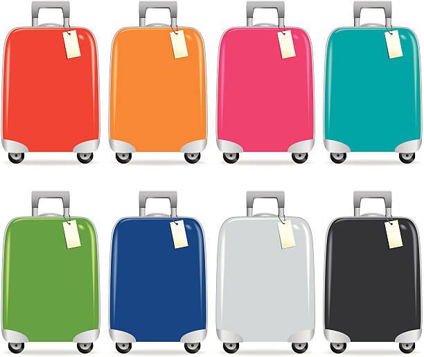 Koffer bunte – Vektorgrafik