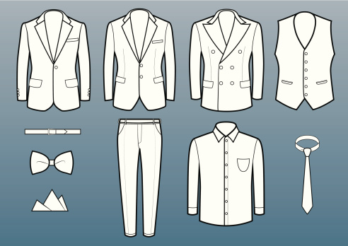 Suits and accessories