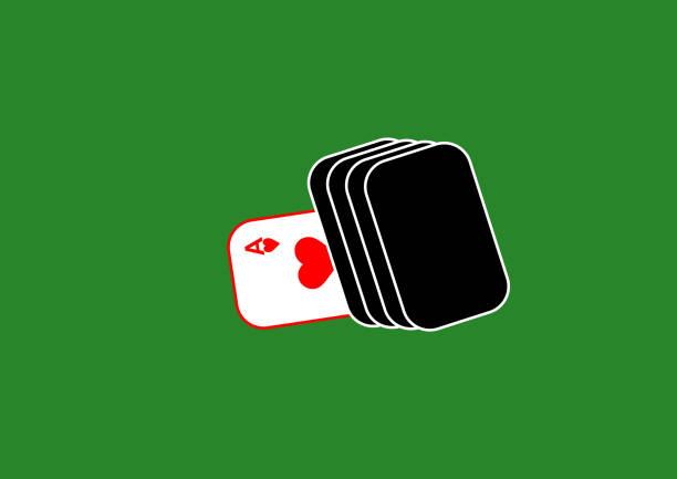ilustraciones, imágenes clip art, dibujos animados e iconos de stock de trajes de una baraja de cartas en la mesa. pico. chirva. pandereta. clubes casino de juegos. lugar de juego para texto. plantilla. póster. cartelera. vector. carta de as. tarjeta trump. tasa de juego. - trump