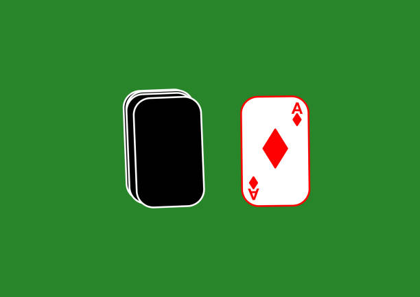 illustrazioni stock, clip art, cartoni animati e icone di tendenza di suits of a deck of playing cards on the table. peak. chirva. tambourine. clubs gaming casino. gambling place for text. template. poster. billboard. vector. ace card. trump card. game rate. - trump