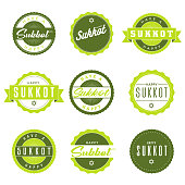 Sukkot Icon Set