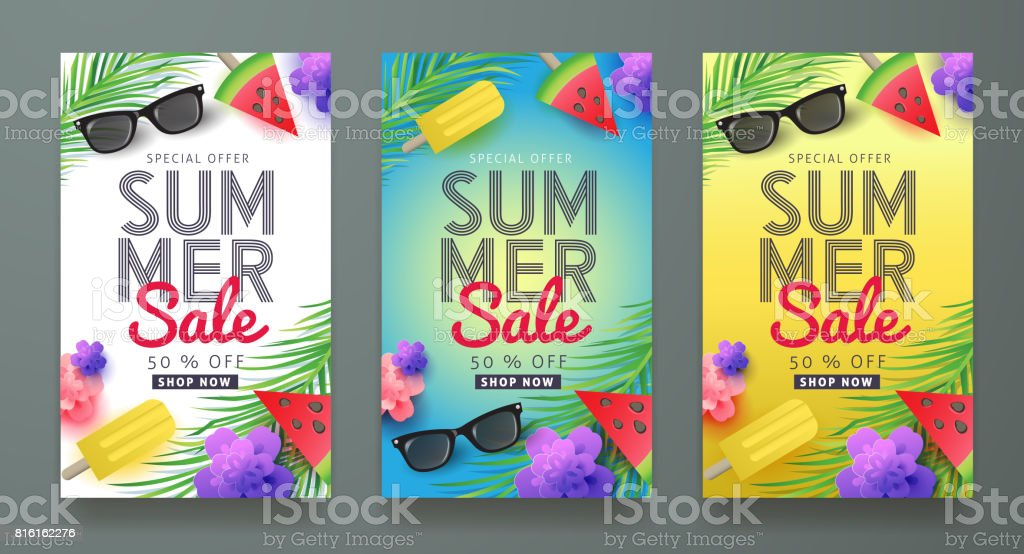 summer 03 vector art illustration