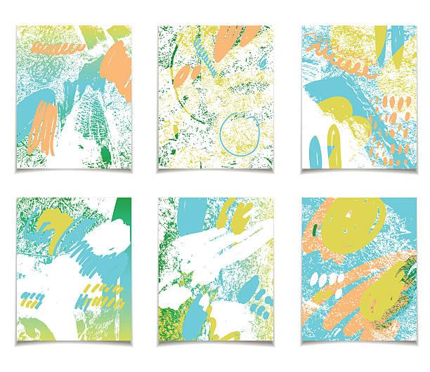 sommer abstrakte vorlage - pastellhosen stock-grafiken, -clipart, -cartoons und -symbole