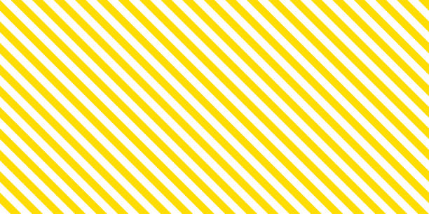 summer background stripe pattern seamless yellow and white. - wzory i tła stock illustrations
