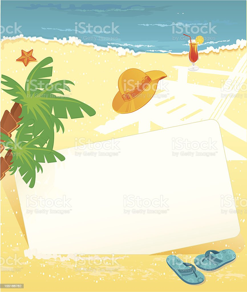 Summer banner royalty-free stock vector art