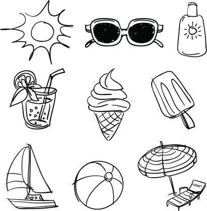Summer beach fun collection