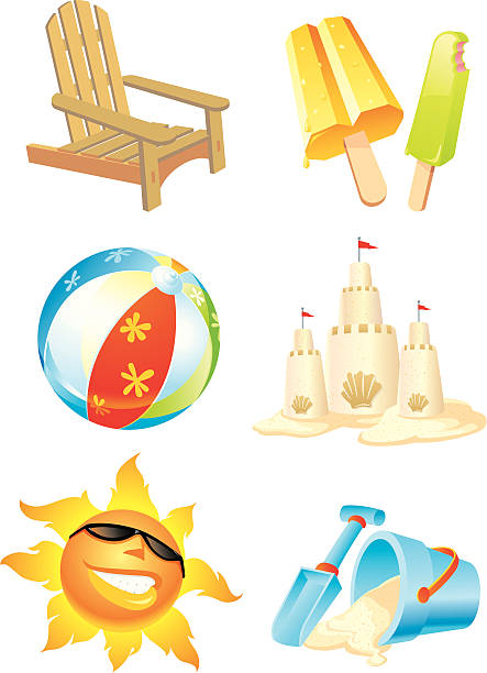 Cartoon Beach Ball Illustrations, Royalty-Free Vector ...