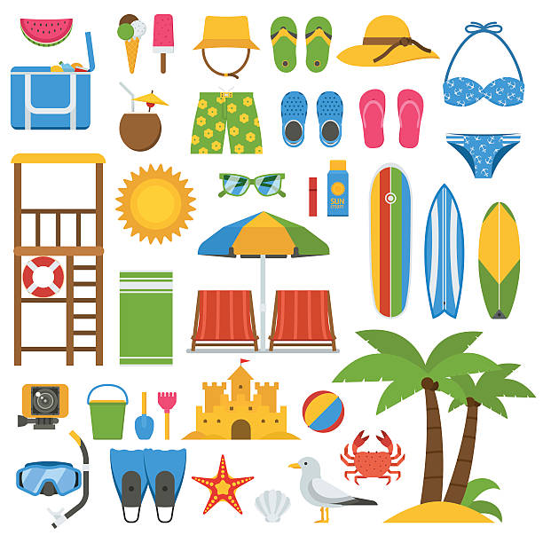 Best Beach Toys Illustrations, Royalty-Free Vector ...