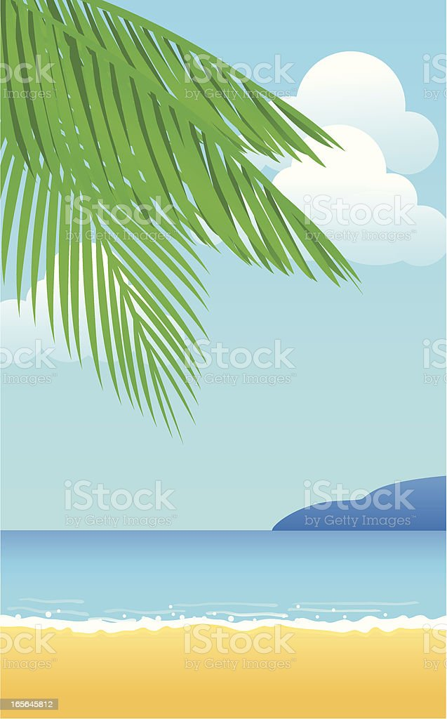 Summer Beach royalty-free stock vector art