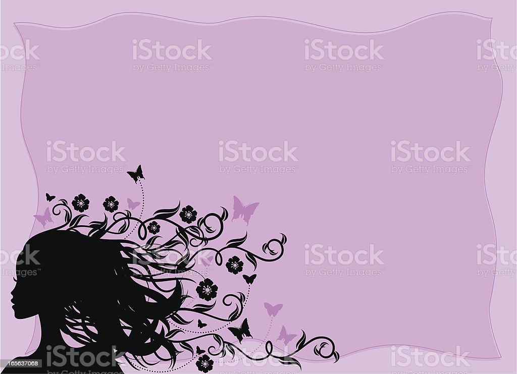 Summer Beauty Lavender royalty-free stock vector art