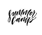 Summer camp postcard.