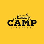 Summer camp yellow