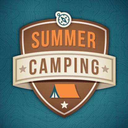 Summer Camping Badge