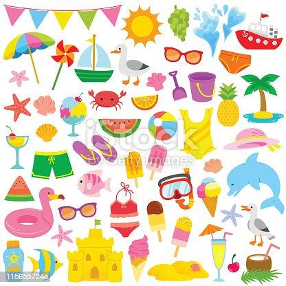 Summer Clipart for kids