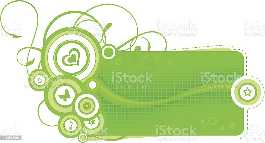 Summer composition royalty-free stock vector art