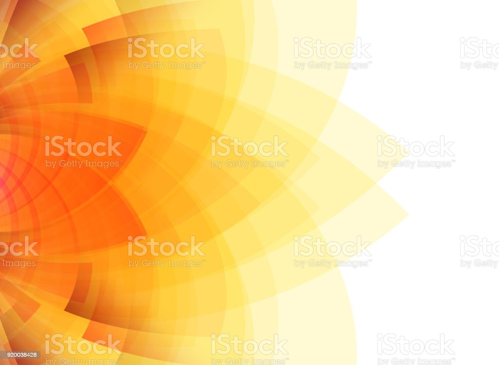 Summer concept abstract yellow background. vector art illustration