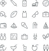 Summer Cool Vector Icons 4