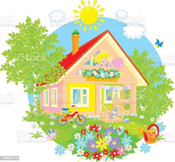 Summer cottage vector id499094219?b=1&k=6&m=499094219&s=612x612&h=7zcdzssle4kzmmty9wrzbodurtnhty64h5collwn oc=