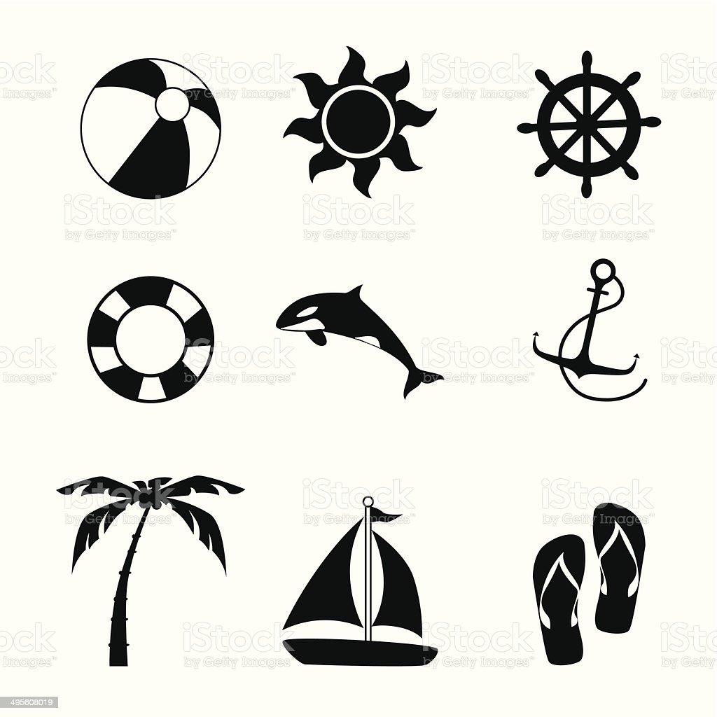 summer design royalty-free stock vector art