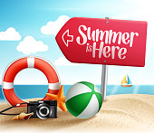 Summer Destination for Summer Beach Holiday in the Seashore