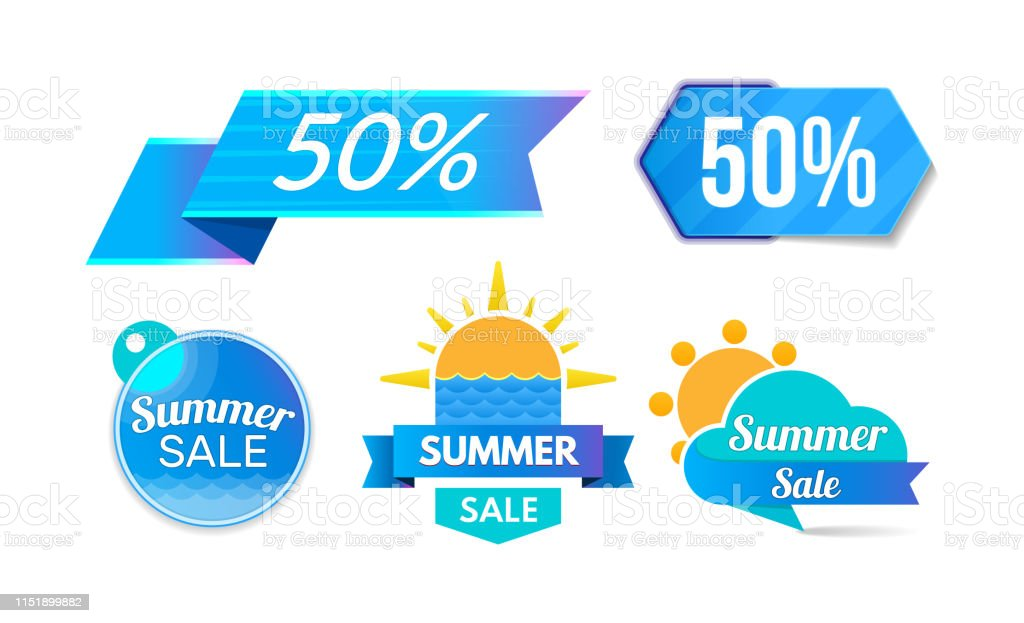 Summer Discount Sale 50 Promotions Discount Program Special
