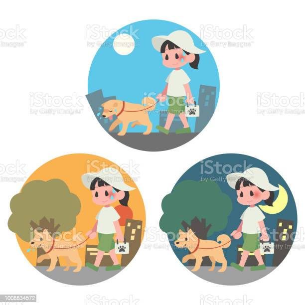 Summer dog walking pet female background heat stroke set vector id1008834572?b=1&k=6&m=1008834572&s=612x612&h=pf8r268esbyes46mjnff60yu9u pus bobpcjqdmjjg=