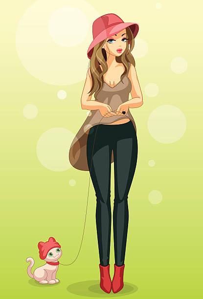 summer fashion - summer fashion stock illustrations, clip art, cartoons, & icons