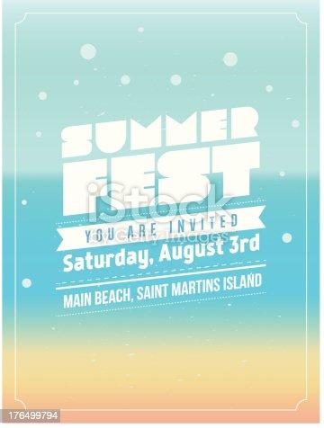 istock Summer Fest design 176499794