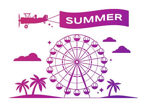 Summer Festival Ferris Wheel