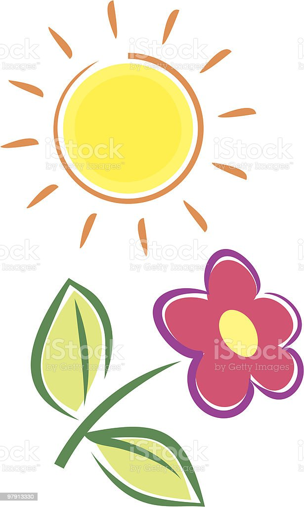 Summer Flower royalty-free summer flower stock vector art & more images of beauty in nature