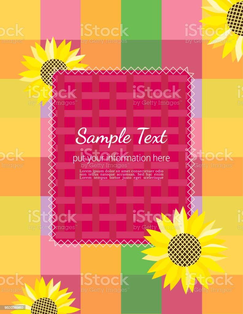 summer flyer template stock vector art more images of abstract