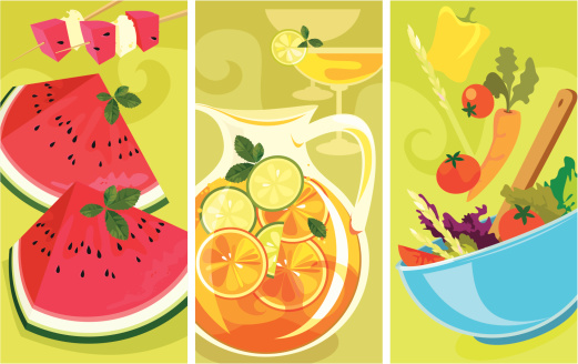 Summer Food Banners