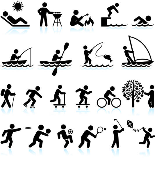 Royalty Free Leisure Activity Clip Art, Vector Images ...