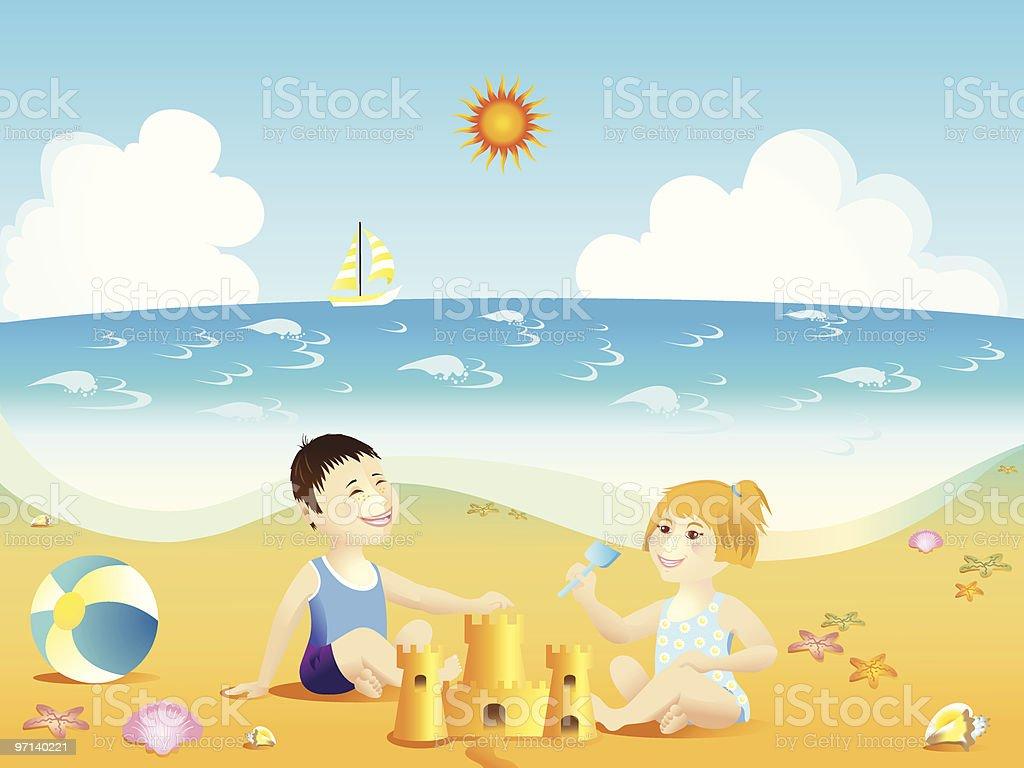 Summer fun royalty-free stock vector art