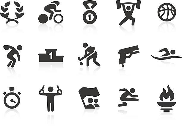 ilustrações de stock, clip art, desenhos animados e ícones de jogos olímpicos de verão de ícones - swim arms