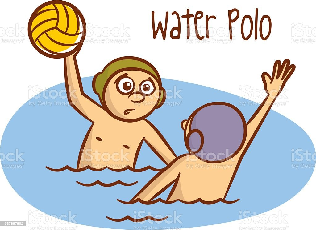summer games sport water polo stock vector art more images of boys rh istockphoto com water polo images clip art water polo ball clipart