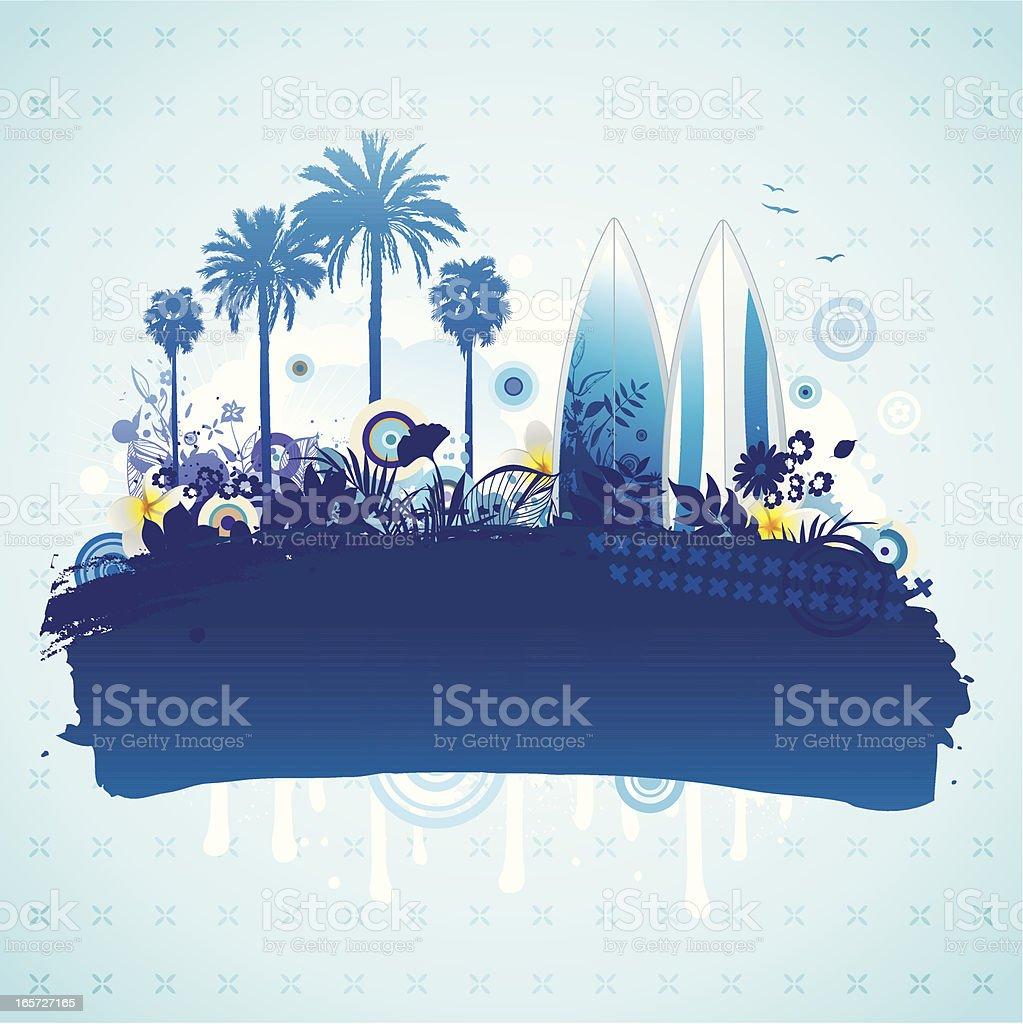 Summer holiday design royalty-free stock vector art
