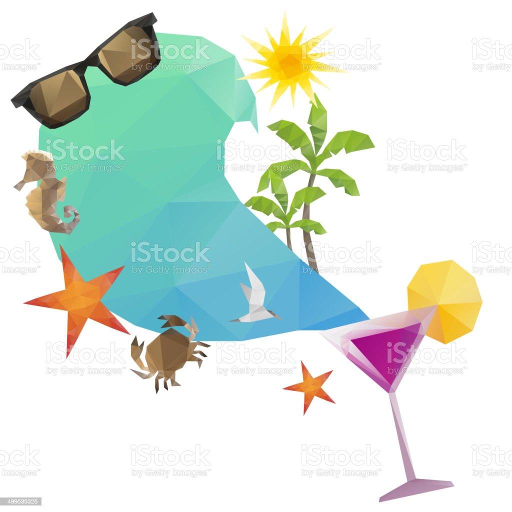 夏の休日の背景ベクトルイラスト のイラスト素材 499535325 | istock