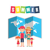 summer holidays enjoy icon