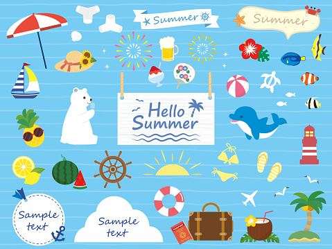 Summer icon Collection